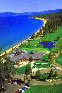 Edgewood Golf Resort Club is just 30 minutes from Accommodation Tahoe�s vacation rentals.